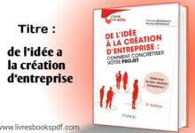 Photo de De l'idée à la création d'entreprise