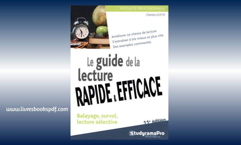 Photo de Télécharger Le guide de la lecture rapide pdf gratuit