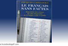 Photo de Télécharger : Le français sans faute en pdf gratuit