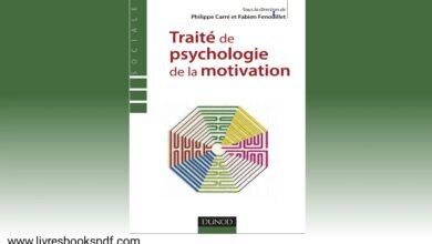 Photo de Traité de la psychologie de la motivation