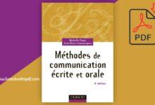 Photo de Télécharger Méthodes de communication écrite et orale pdf gratuit