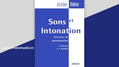 Photo de Télécharger Sons et intonation exercices de prononciation pdf gratuit
