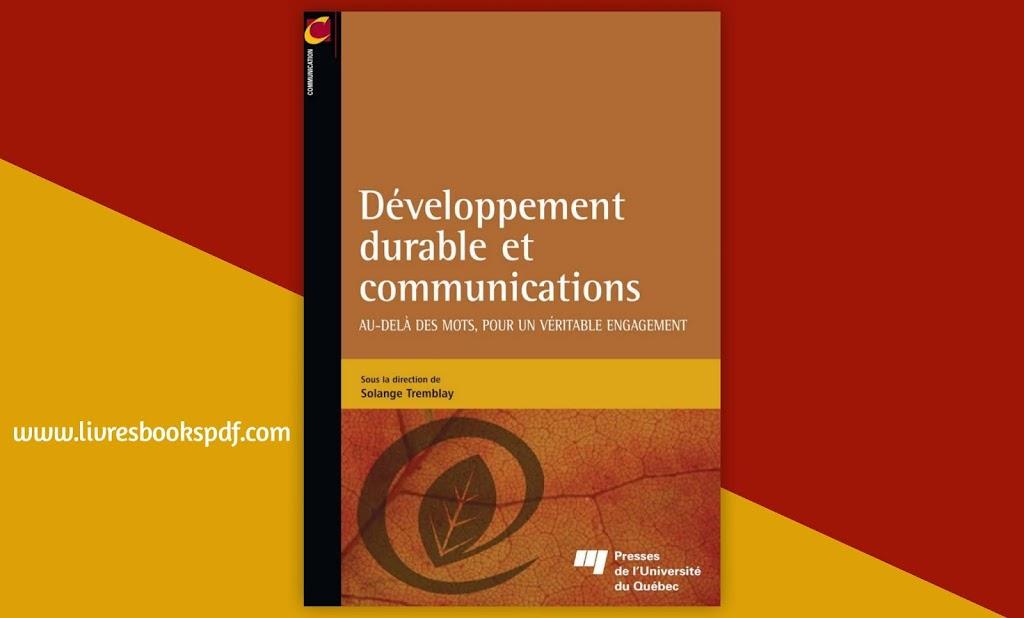 Photo de Télécharger Développementdurable etcommunications pdf gratuit