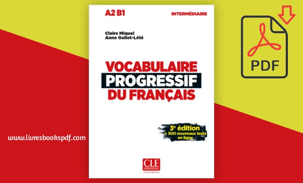 Photo de Télécharger vocabulaire progressif du français pdf gratuit