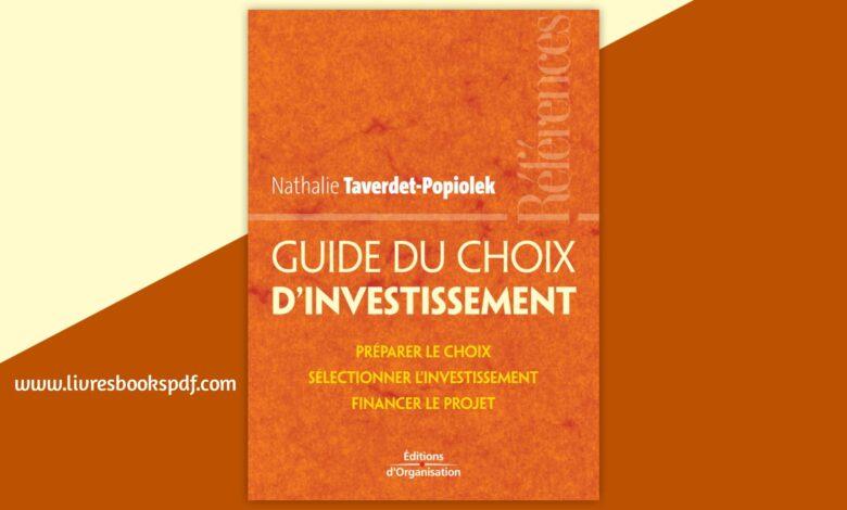 Photo de Télécharger Guide du choix d'investissement pdf gratuit